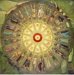 Рулетка богов. х.м. 140х140см. 2003г.