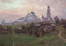 Никитская слобода  70х100 хм 2011г. Вилков.А.